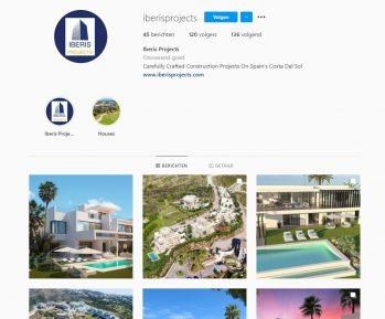 Iberis Projects Social Media