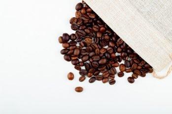 zakje koffiebonen